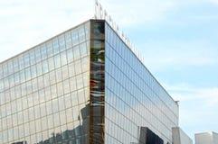 Krokus-Stadt-Hall Crocus Group Moscow Blue-Himmel Stockbilder
