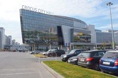 Krokus-Stadt-Hall Crocus Group Moscow Sunny-Tag Stockfoto