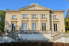 Krolikarnia宫殿在华沙 免版税库存图片