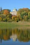 Krolikarnia宫殿在华沙 免版税库存照片