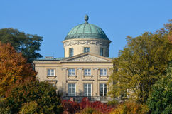Krolikarnia宫殿在华沙 库存照片