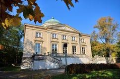 Krolikarnia宫殿在华沙 图库摄影