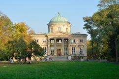 Krolikarnia宫殿在华沙 免版税图库摄影
