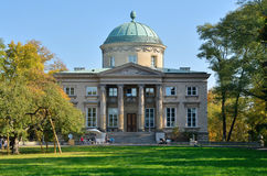 Krolikarnia Palace in Warsaw. Królikarnia (The Rabbit House) – palace in Warsaw (Poland) was built between 1782 and 1786. Since 1965 there is The Xawery Royalty Free Stock Images