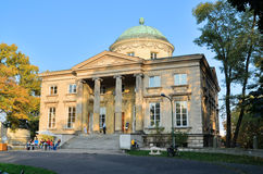 Krolikarnia Palace in Warsaw. Królikarnia (The Rabbit House) – palace in Warsaw (Poland) was built between 1782 and 1786. Since 1965 there is The Xawery Royalty Free Stock Photos