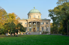 Krolikarnia slott i Warszawa Royaltyfri Fotografi