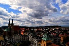 KromÄ-› Å™ÃÅ ¾, Tschechische Republik lizenzfreies stockbild