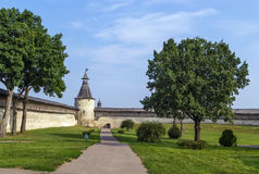 Krom in Pskov, Russia Royalty Free Stock Photo