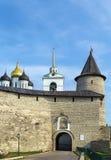 Krom in Pskov, Russia Royalty Free Stock Photos