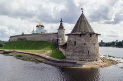 Krom in Pskov Royalty Free Stock Photo