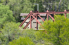 Krom River Blockhouse Royalty Free Stock Images