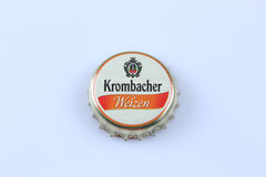 Krombacher bottle cap Royalty Free Stock Photos