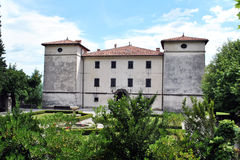 Kromberk castle. In the Vipava valley, Slovenia Royalty Free Stock Photography
