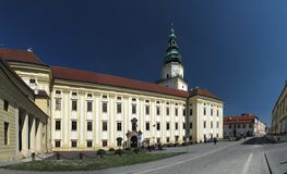 Kromeriz - castle Stock Photography