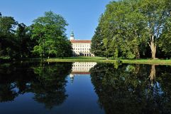 Kromeriz Castle & Garden Royalty Free Stock Photo