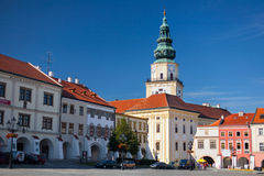 Baroque, archiepiscopal castle in Kromeriz, Czech Republic. Stock Photography