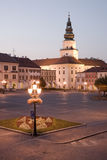 Kromeriz square Royalty Free Stock Image