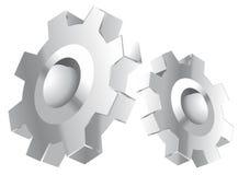 kromkugghjul Arkivbild