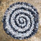Kromme van stenen Stock Afbeelding