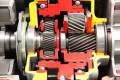 krommotorsilver Royaltyfria Bilder