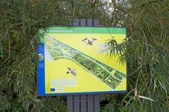 Kromslootpark Almere royalty free stock images