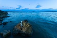 Krona & Dagger Stone Slab Fotografering för Bildbyråer