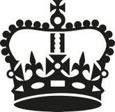 Krona i uppehällestillhetstil vektor illustrationer