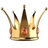 kronaguld royaltyfri illustrationer