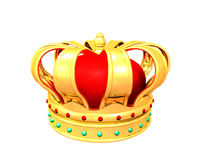 kronaguld Royaltyfri Fotografi
