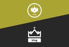 Kronan av konungar Arkivbild