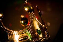 Kronan för konung` s royaltyfria bilder