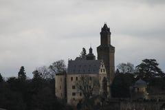 Kronberger slott Fotografering för Bildbyråer