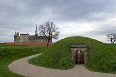 kronborg замока стоковое фото rf