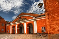 kronborg замока стоковое фото