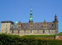 Kronborg, сногсшибательное здание ренессанса в Helsingor стоковые фото