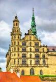 Kronborg Castle, γνωστό ως Elsinore στην τραγωδία Άμλετ - της Δανίας στοκ φωτογραφία