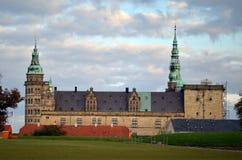 Kronborg Castle στη Δανία Στοκ Φωτογραφία