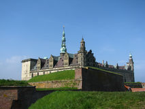 Kronborg castle. Hamlet castle in Helsingor, Denmark Stock Photos