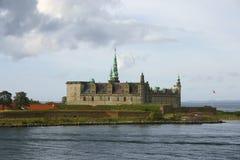 Kronborg Castle. In Denmark, view from sea Stock Photo