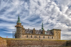 Kronborg castle in Denmark Royalty Free Stock Photography