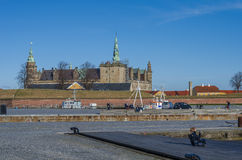 Kronborg Castle, Denmark Royalty Free Stock Photo