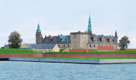 Kronborg Castle Elsinore, Helsingor, Denmark Royalty Free Stock Photos