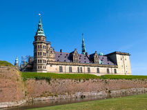 Kronborg Castle of Hamlet Denmark. Kronborg Castle of Hamlet by william Shakespeare Elsinore Helsingor Denmark stock image