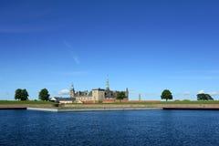 Kronborg Castle of Hamlet in Denmark. Castle of Kronborg, home of Shakespeare's Hamlet Stock Photos