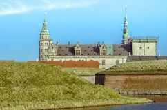 The Kronborg Castle or Hamlet's Castle Stock Photography
