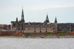 Kronborg castle in Helsingor, Denmark Stock Photography
