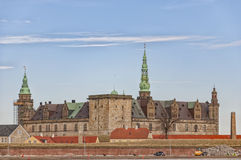 Kronborg castle in Helsingor Royalty Free Stock Photography