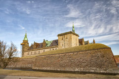 Kronborg castle from inner moat Royalty Free Stock Photography