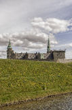 Kronborg Castle Moat Mound Royalty Free Stock Images
