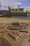 Kronborg castle Scale Model Royalty Free Stock Image